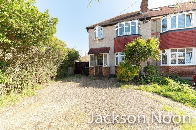 Thumbnail Semi-detached house for sale in Oakhurst Road, West Ewell, Epsom