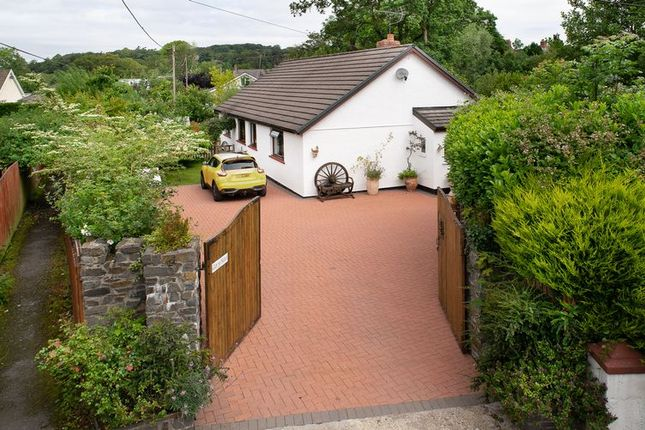 Thumbnail Detached bungalow for sale in Mill Street, Aberarad, Newcastle Emlyn