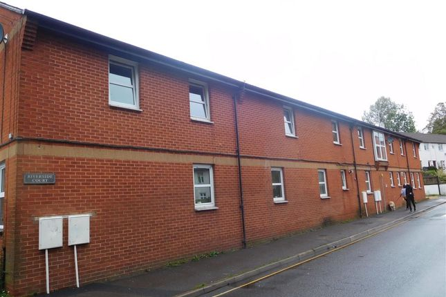 Thumbnail Flat to rent in Riverside Court, Chapel Street, Tiverton