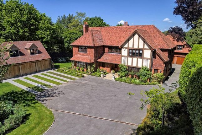 Thumbnail Detached house for sale in Cross Road, Sunningdale, Ascot, Berkshire