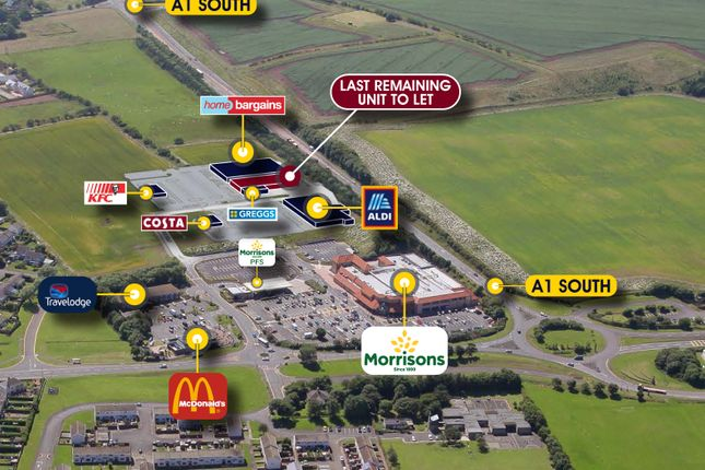 Thumbnail Retail premises to let in Loaning Meadows Retail Park, Berwick Upon Tweed