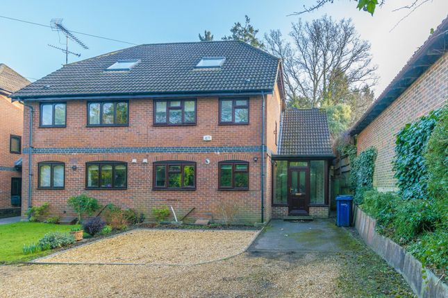 Thumbnail End terrace house to rent in Quennells Hill, Wrecclesham, Farnham