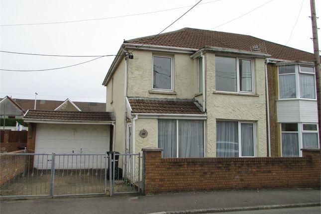Thumbnail Semi-detached house for sale in Godfrey Avenue, Glynneath, Neath, West Glamorgan
