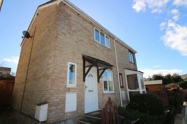 Thumbnail Semi-detached house for sale in Highertown Park, Landrake, Saltash