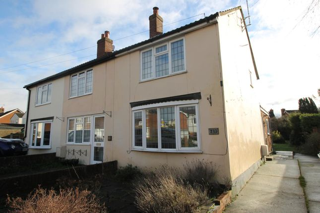 Thumbnail End terrace house to rent in Mill Road, Mile End, Colchester