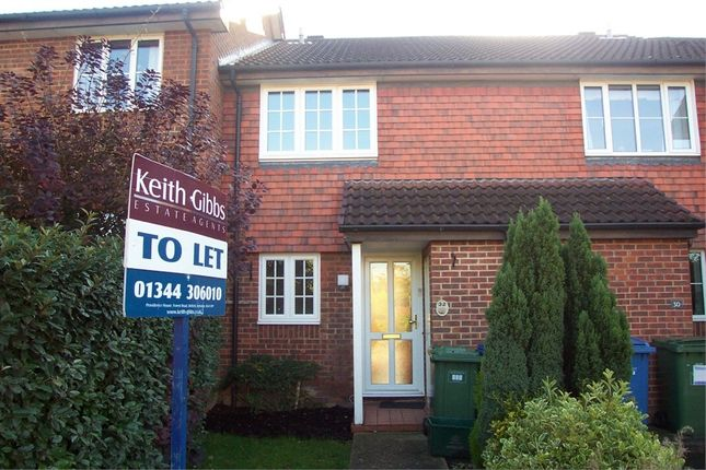 Thumbnail Terraced house to rent in Angel Place, Binfield, Bracknell, Berkshire