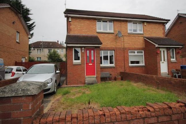 Thumbnail Semi-detached house to rent in Foresthall Drive, Springburn, Glasgow