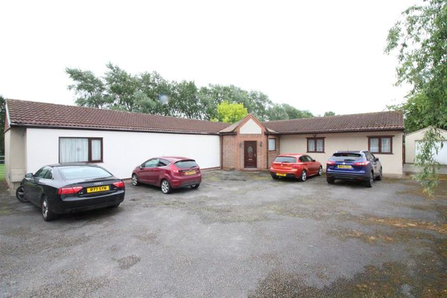 Thumbnail Detached bungalow for sale in North Moor Lane, Cottingham