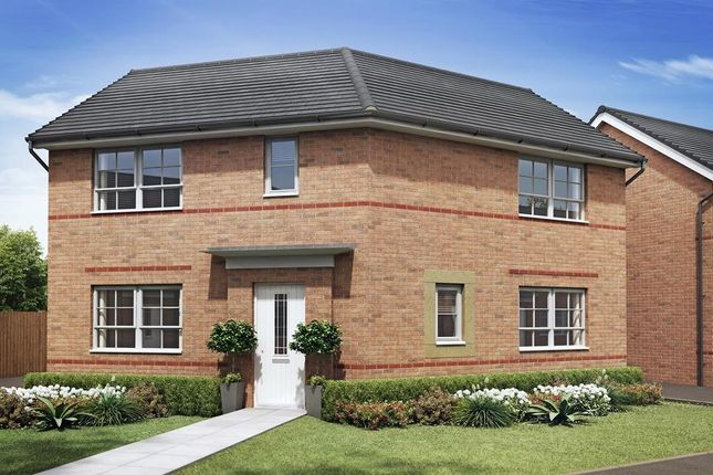"Thumbnail Detached house for sale in ""Eskdale"" at Tiber Road, North Hykeham, Lincoln"