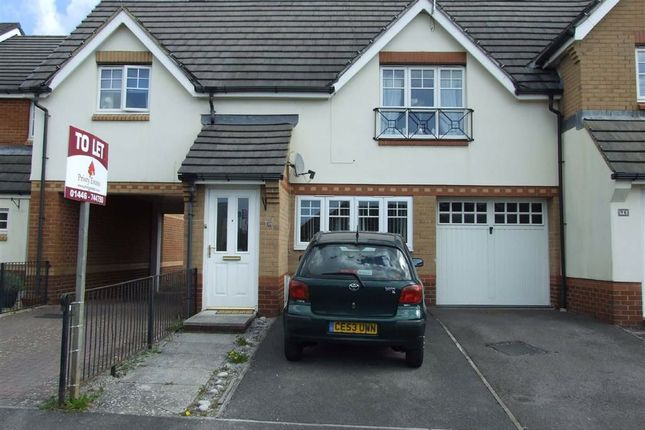 Thumbnail Terraced house to rent in Cwlwm Cariad, Barry, Vale Of Glamorgan