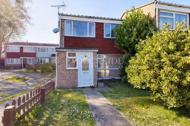 Thumbnail Terraced house to rent in Roper Close, Rainham, Gillingham
