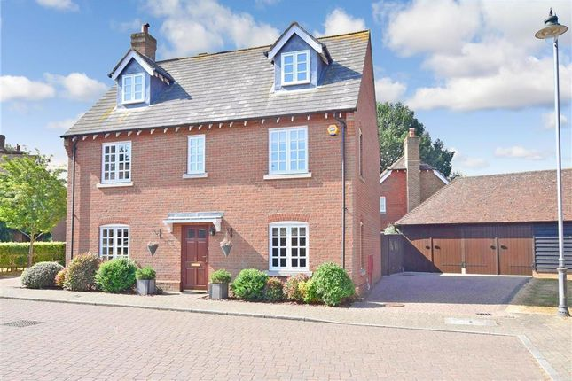 Thumbnail Detached house for sale in Redwell Grove, Kings Hill, West Malling, Kent