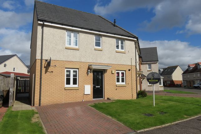 Thumbnail Flat for sale in Cook Crescent, Motherwell