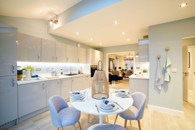 """Thumbnail Town house for sale in """"The Scarsdale"""" at Oak Tree Road, Hugglescote, Coalville"""