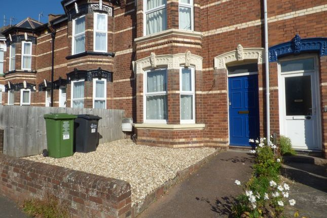Thumbnail Flat to rent in Polsloe Road, Mount Pleasant, Exeter