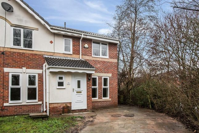 Thumbnail End terrace house for sale in Reedley Drive, Worsley, Manchester