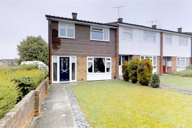 Thumbnail End terrace house for sale in Duffield Road, Great Baddow, Chelmsford