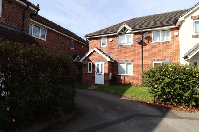 Thumbnail Town house to rent in Cygnet Close, Brampton Bierlow, Rotherham