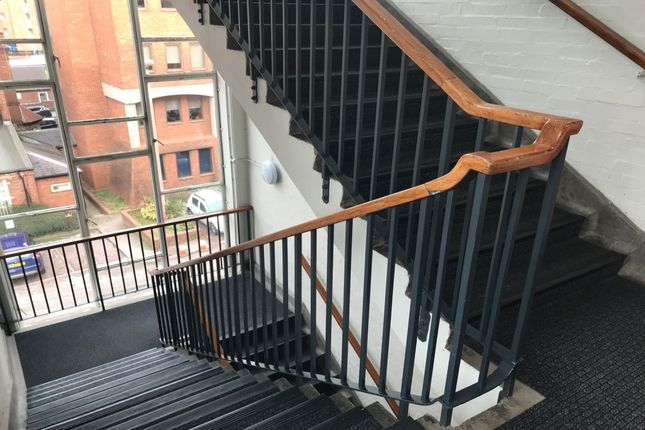 Staircase of Metropolitan Lofts, Parsons Street, Dudley, West Midlands DY1