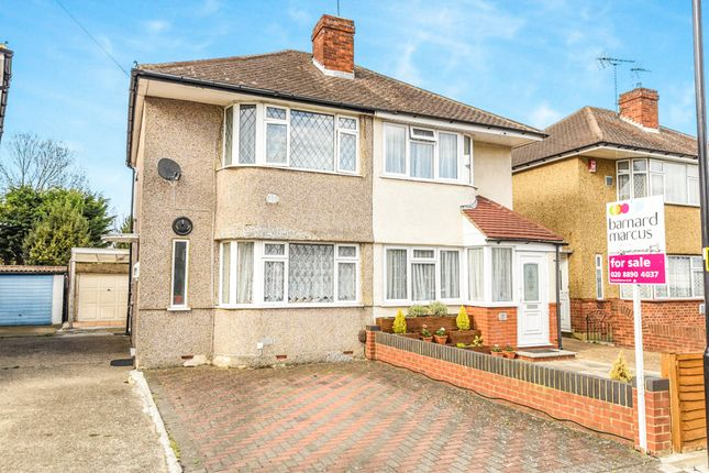 Thumbnail Semi-detached house for sale in Northumberland Crescent, Feltham