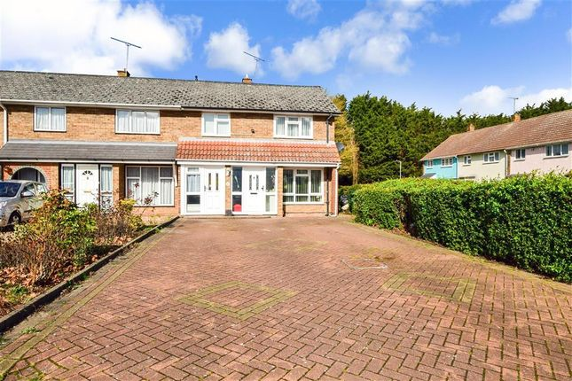 Thumbnail End terrace house for sale in Great Gregorie, Basildon, Essex