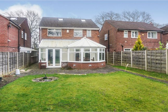 Rear View of St. Anns Road North, Heald Green, Cheadle SK8