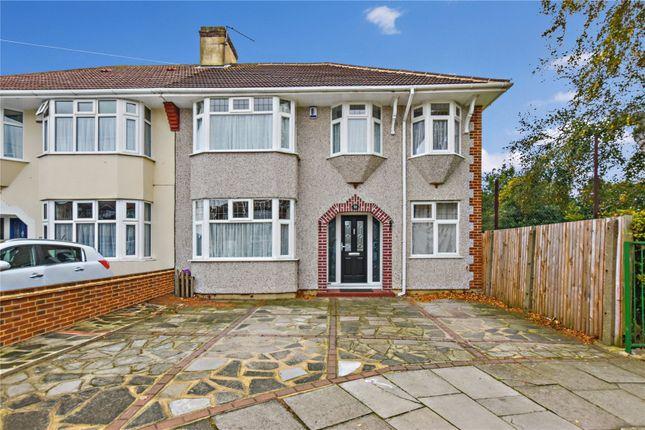 Thumbnail Semi-detached house for sale in Barrington Road, Bexleyheath, Kent