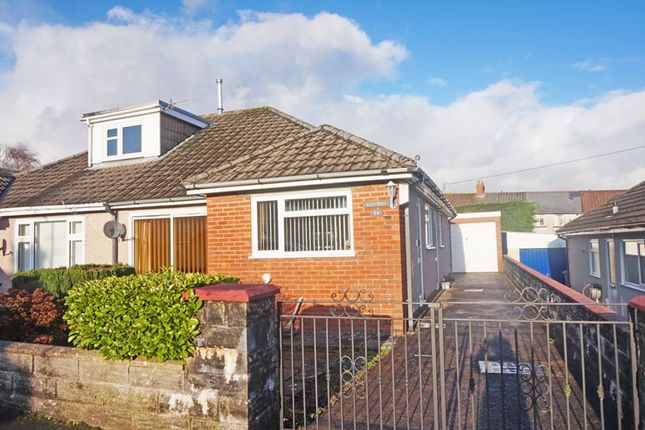 Thumbnail Semi-detached bungalow for sale in Rhos Avenue, Penpedairheol, Hengoed