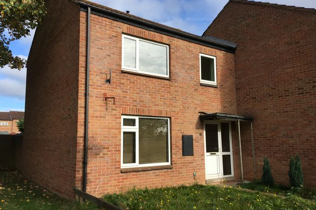 Thumbnail End terrace house to rent in Franklin Close, Taunton