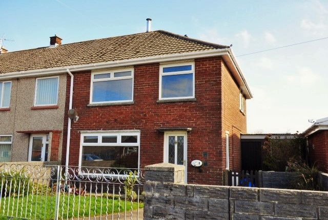 Thumbnail End terrace house for sale in Bryn Awel, Bettws
