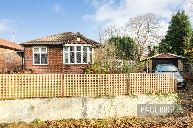 Thumbnail Detached bungalow for sale in Millford Avenue, Flixton, Manchester