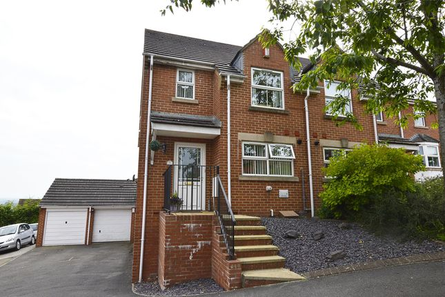 Thumbnail Semi-detached house for sale in Colliers Rise, Radstock