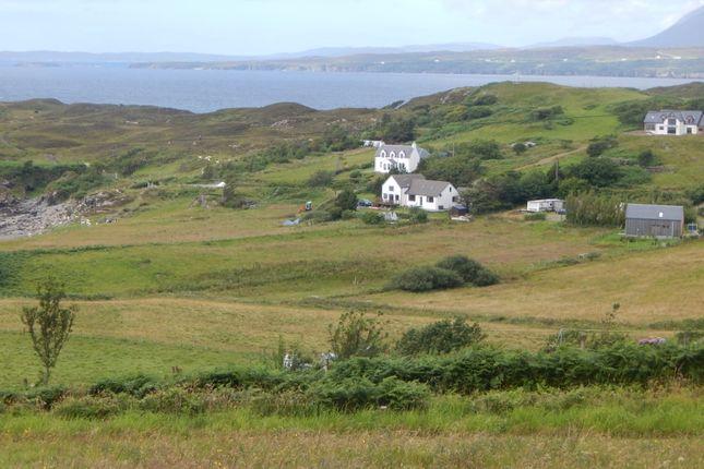 Thumbnail Land for sale in 7 Tarskavaig, Sleat, Isle Of Skye