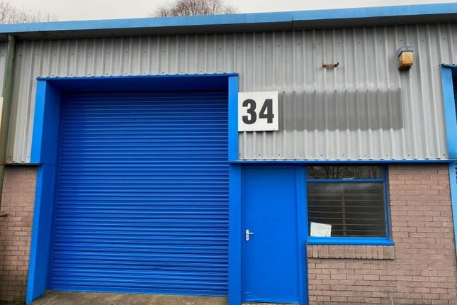 Thumbnail Industrial to let in Unit 34 Albion Industrial Estate, Pontypridd