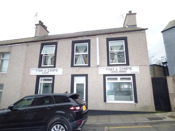 Thumbnail End terrace house for sale in St. Cybi Street, Holyhead, Sir Ynys Mon