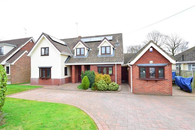 Thumbnail Detached house for sale in Wyatts Green Lane, Wyatts Green, Brentwood, Essex