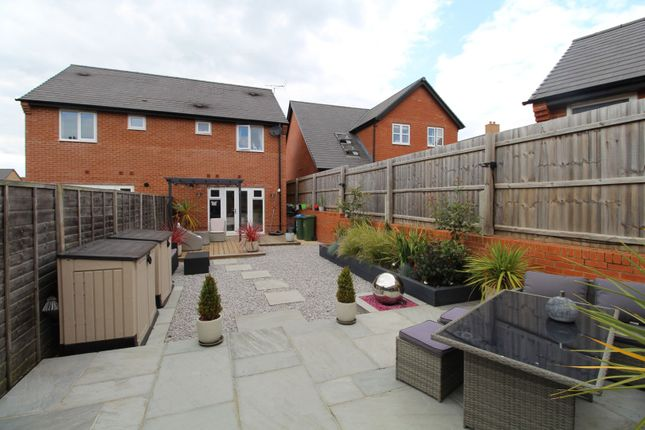Thumbnail Semi-detached house for sale in Rogers Way, Buckingham