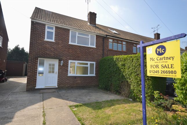 Thumbnail Terraced house for sale in Gloucester Avenue, Chelmsford