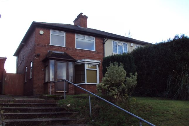 Thumbnail Semi-detached house to rent in Manor Road, Birmingham