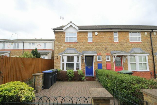 Thumbnail End terrace house for sale in Chadwick Avenue, London