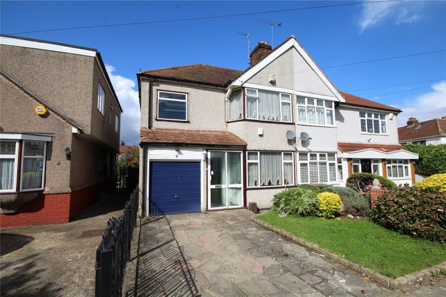Thumbnail Semi-detached house for sale in Ashmore Grove, South Welling, Kent
