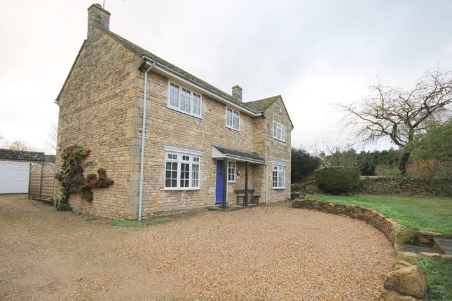 Thumbnail Detached house to rent in Stamford Road, Barnack, Stamford
