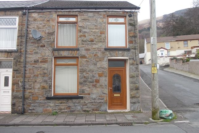 Thumbnail End terrace house for sale in Tynybedw Street, Treorchy, Rhondda, Cynon, Taff.