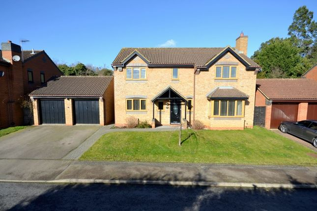 Thumbnail Detached house for sale in Tanfield Lane, Rushmere, Northampton