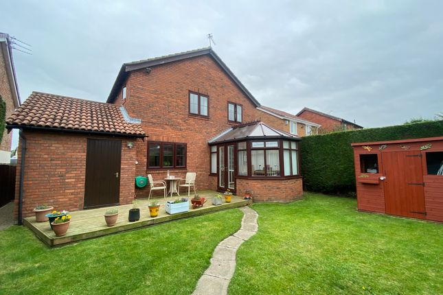Thumbnail Detached house for sale in Hatfield Drive, Seghill, Northumberland