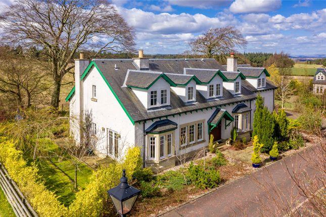 Thumbnail Detached house for sale in Newlands, Kirknewton, Midlothian