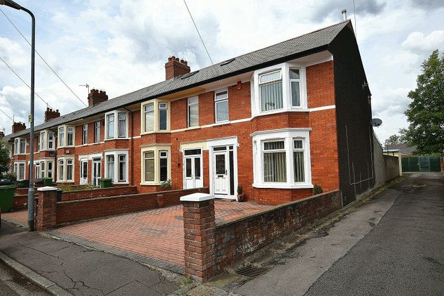 Thumbnail End terrace house for sale in Dryburgh Avenue, Rhiwbina, Cardiff.