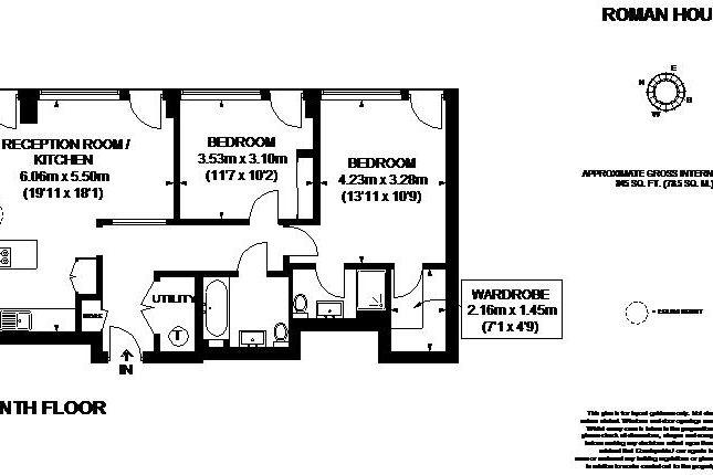 Floor Plan of Wood Street, London EC2Y