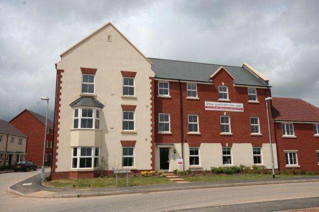 Thumbnail Flat to rent in Campion Way, North Petherton