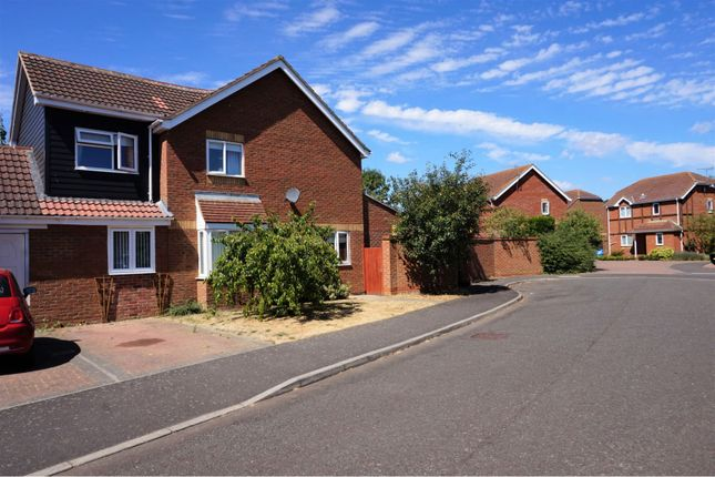 Thumbnail Link-detached house for sale in Sheridan Close, Stowmarket